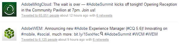 #AdobeSummit Announcements